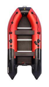Фото лодки Ривьера 3400 СК компакт красно/чёрная (Уценка)