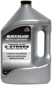 Фото Масло 2-х тактное Quicksilver Premium Ultra (4л)